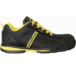 Pantof protectie piele cu bombeu metalic G3054