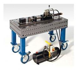 Dispozitiv hidraulic de indoit tevi cu masa