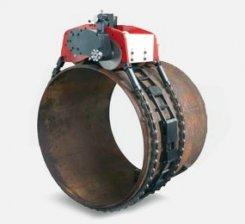 Masina de debitat tevi pneumatica cu lant TAF120