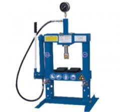 Presa hidraulica pentru ateliere mecanice HLR-10U/2