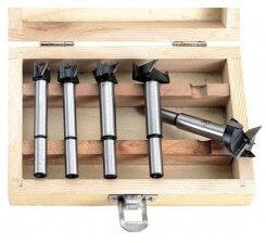 Set freze cilindrice pentru lemn 15-35 mm 0087