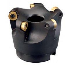 Cap de frezat 40-100 mm cu placute schimbabile F403