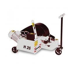 Masini debitat otel-beton hidraulice H26