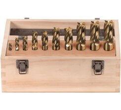 Set 10 freze cilindrice frontale 6-25 mm F001/10