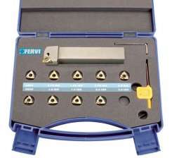 Trusa de cutite de strung pentru filetat exterior KISER