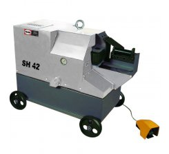 Masini de debitat otel beton cu actionare hidraulica SH42