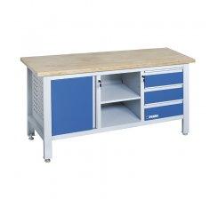 Banc de lucru cu dulap si sertare B009/A2