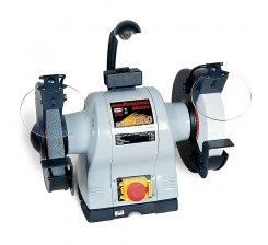 Polizor de banc cu sistem de iluminare 200 mm BKL-2000