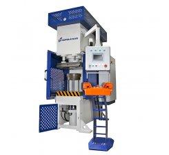 Presa hidraulica tip C de ambutisat cu dublu efect 900 x 600 mm CFDD 150