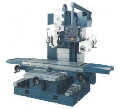 Masina de frezat universala cu masa in cruce FBM-VST1500