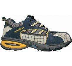 Pantof protectie velur cu bombeu metalic G2400