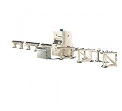 Linie automata de stantat / marcat / crestat corniere cu CNC Gamma Roller 150 2P / DPS