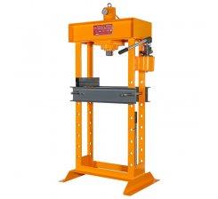 Presa hidraulica manuala pentru ateliere mecanice 820 x 300 mm HD 60