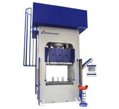 Presa hidraulica tip H de ambutisat cu dublu efect 1200 x 1400 mm HDD 400