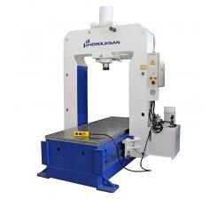 Presa hidraulica pentru planat tabla 1000 x 2000 mm HSPS 100