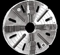 Flansa cu 4 bacuri independente, Ø 250 mm brand ZMM