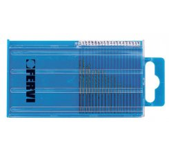 Set burghie 0.25-1 mm DIN 338 HSS 135° TIN P068