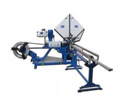 Utilaj tubulatura elicoidala tabla galvanizata pentru ventilatie cu sistem de fasiere tabla TUBE FORMER WITH SLITTER 100 - 1250 mm