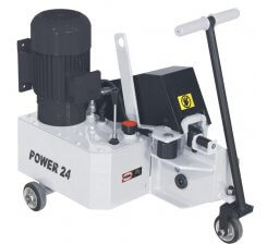 Masina hidraulica de debitat otel beton POWER 24
