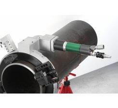 Masina de sanfrenat si debitat tevi pneumatica MCA CUTTER MCA18, 443-615 mm