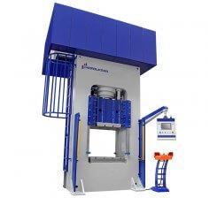 Presa hidraulica tip H de ambutisat cu simplu efect 800 x 1000 mm HSA 100