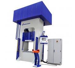 Presa hidraulica tip H de ambutisat cu simplu efect 800 x 1000 mm HSA 200