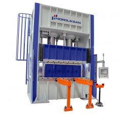 Presa hidraulica tip H de ambutisat cu simplu efect 1200 x 1500 mm HSA 500