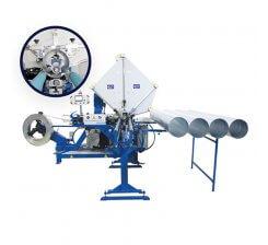 Masina de fabricat tubulatura elicoidala TUBE FORMER WITH SLITTER