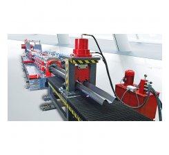 Linie fabricatie parapeți metalici rutieri (BARIERE RUTIERE)