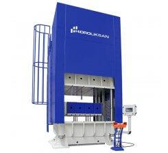 Presa hidraulica cu coloana tip H cu simplu efect 800 x 1000 mm HCFP 100