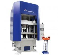 Presa hidraulica cu coloana tip H cu simplu efect 1000 x 1200 mm HCFP 300