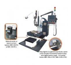 Masina de mortezat in 1 axa cu CNC SSM-300A1/CNC