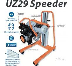 Masina de sanfrenat tabla UZ29 SPEEDER (KIT 30°+45°) 400V, 3PHASE