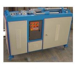 Masina automata de curbare si debitare bare de fier forjat CK01