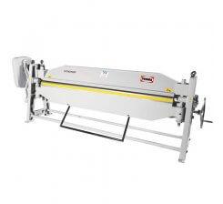 Abkant manual de indoit tabla pentru ateliere de tinichigerie cu masa basculanta CCM2020