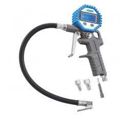 Pistol pneumatic cu manometru digital pentru anvelope 0125