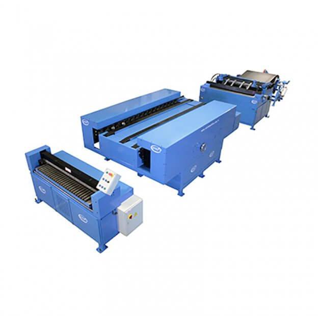 Linie de fabricat tubulatura ventilatie tip TDC AUTO DUCT FORMER