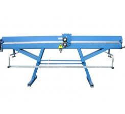 Abkant de indoit tabla pentru ateliere de tinichgerie 2140 mm ROP-2000x0.65