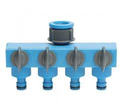 Conector robinet cu 4 iesiri 0410/18