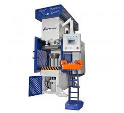 Presa hidraulica tip C de ambutisat cu dublu efect 800 x 500 mm CFDD 100