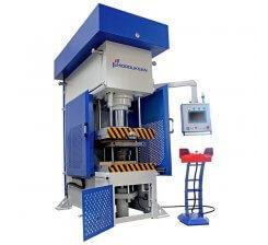 Presa hidraulica tip C de ambutisat cu dublu efect 900 x 600 mm CFDD 200