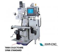 Masina de frezat vertical cu CNC 33HP-CNC