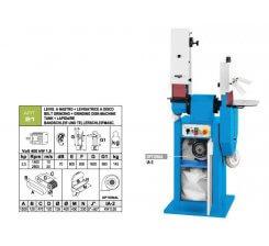 Masina de slefuit metale industriala ART. 21