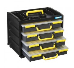 Organizator pentru scule cu 4 sertare/cutii C313