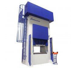 Presa hidraulica tip H de ambutisat cu dublu efect 800 x 1000 mm HDD 100