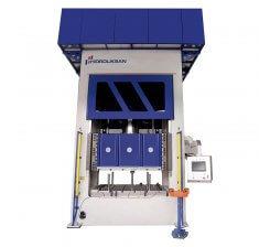 Presa hidraulica tip H de ambutisat cu dublu efect 1200 x 1500 mm HDD 500