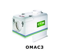 Sistem filtru aer penru filtrarea vaporilor de ulei OMAC 3