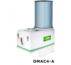 Sistem filtru aer penru filtrarea vaporilor de ulei industrial OMAC 4A
