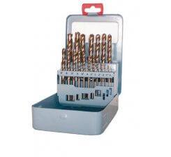 Set burghie cu coada cilindrica DIN 338 HSS 135° - Co 5% COBALT P067