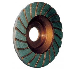 Disc diamantat 100 mm turbo pentru granit-marmura 0833